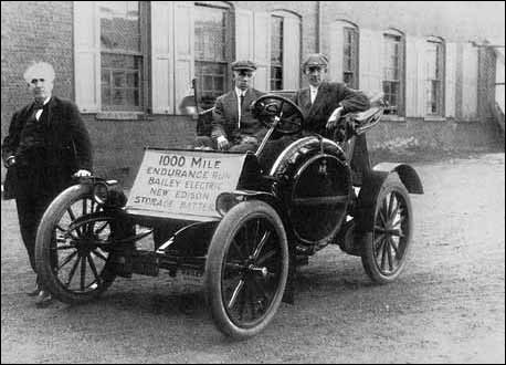 What Type Of Battery Was Used In Early Electric Cars