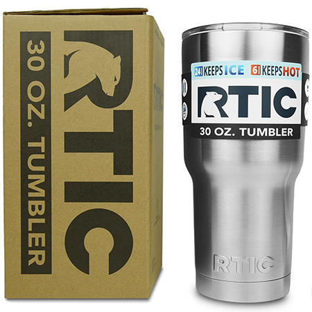 RTIC 30 oz. Tumbler -  RTIC vs Yeti. RTIC wins due to price