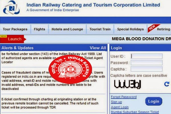 Indian Railways Irctc PNR Status App