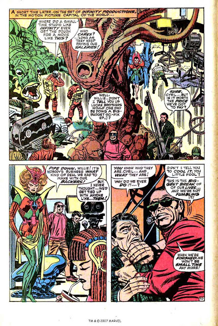 Captain America v1 #106 marvel comic book page art by Jack Kirby