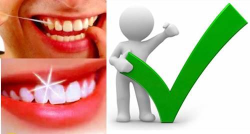 El punto positivo de unos dientes fuertes y encías sanas