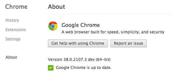 Google Rilis Chrome 64-bit Canary dan Dev Channel untuk Mac OS X