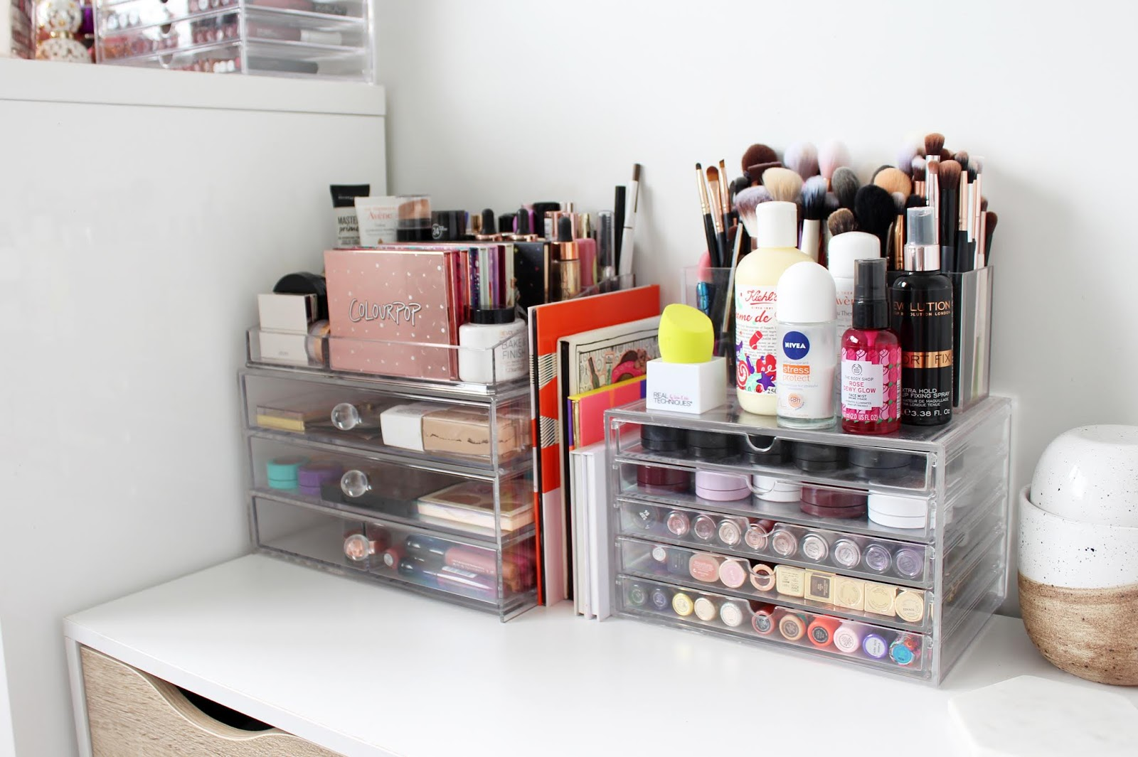 MARIE KONDO YOUR MAKEUP | My Decluttering + Organisation Tips from a Makeup Hoarder - CassandraMyee