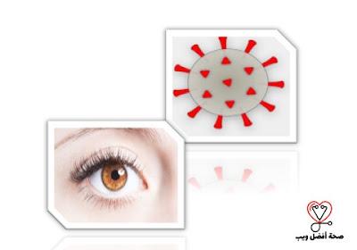 هل يمكن إصابتك بفيروس كورونا من خلال عينيك؟