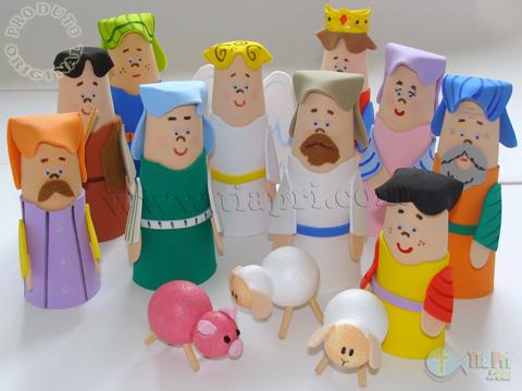 Tia Aline Alcantara Culto Infantil Coleção Personagens Bíblicos