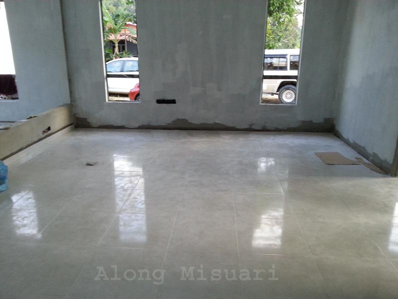 Rumah Idaman Pemasangan Tiles Ruang Dapur Along Misuari