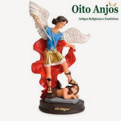Imagem São Miguel Arcanjo | Oito Anjos Artigos Religiosos e Loja Esotérica