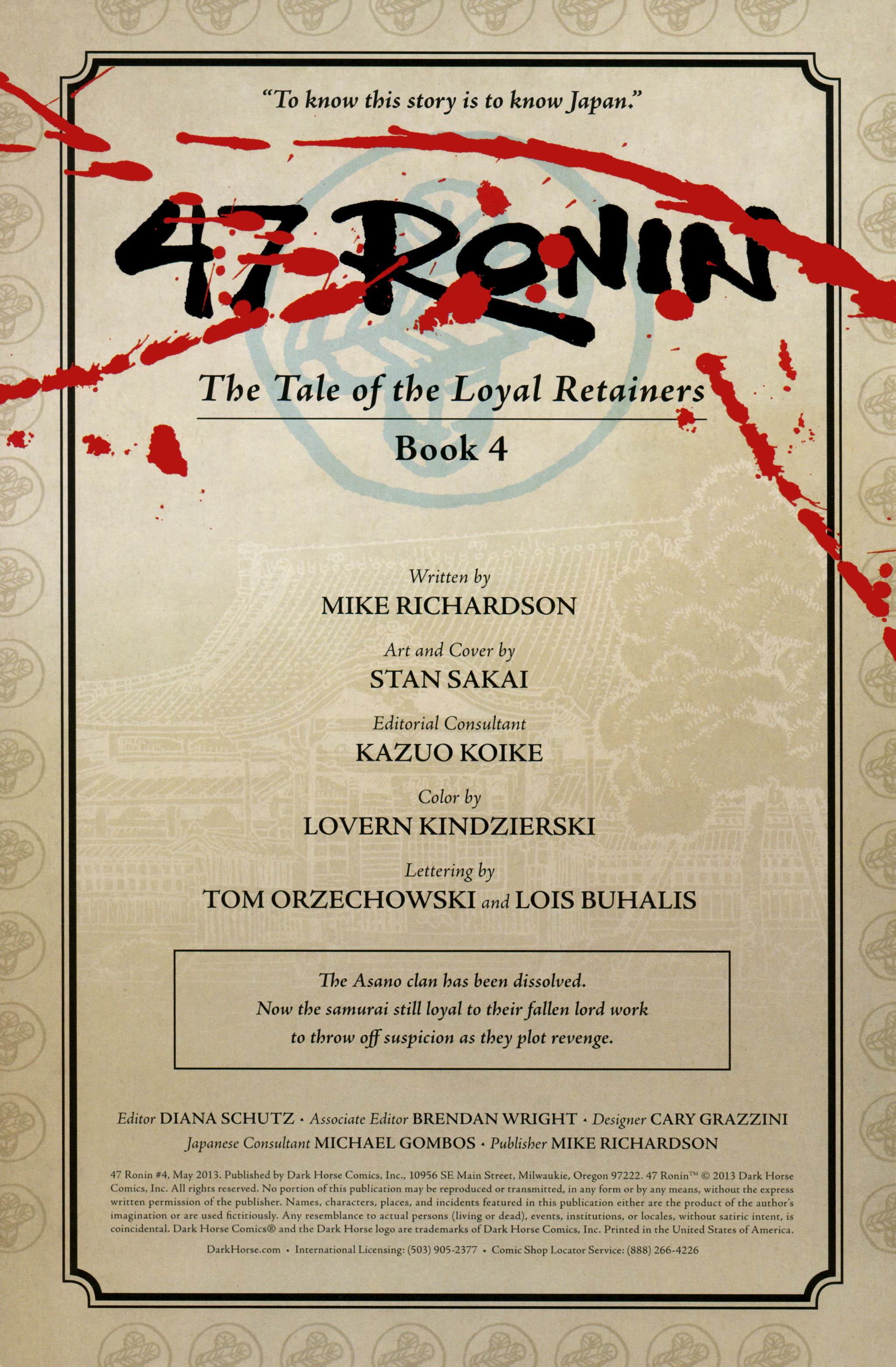 Read online 47 Ronin comic -  Issue #4 - 2