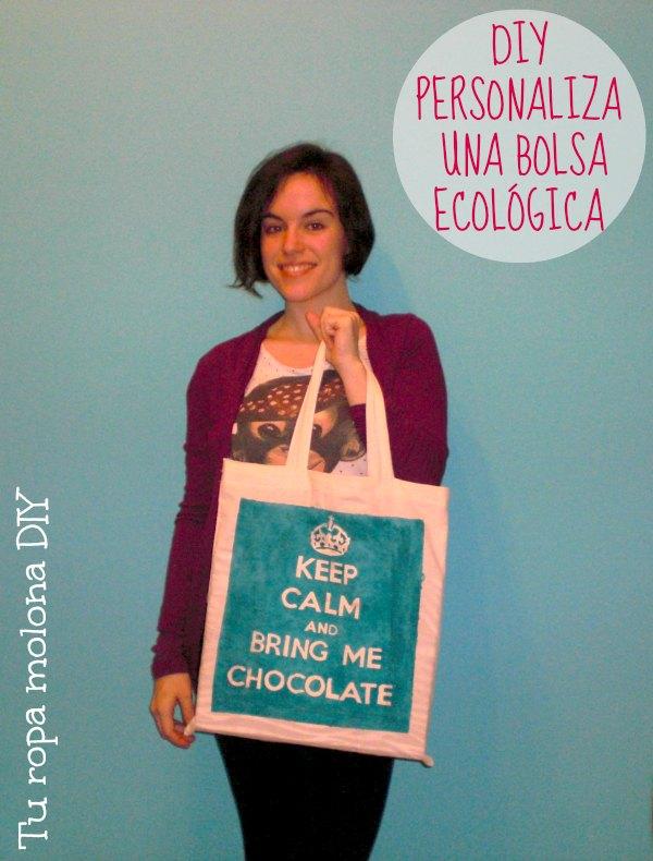 diy personaliza una bolsa ecologica
