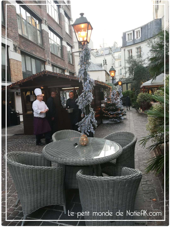 Bar à chocolat de Hugo & Victor au Jardins du Marais