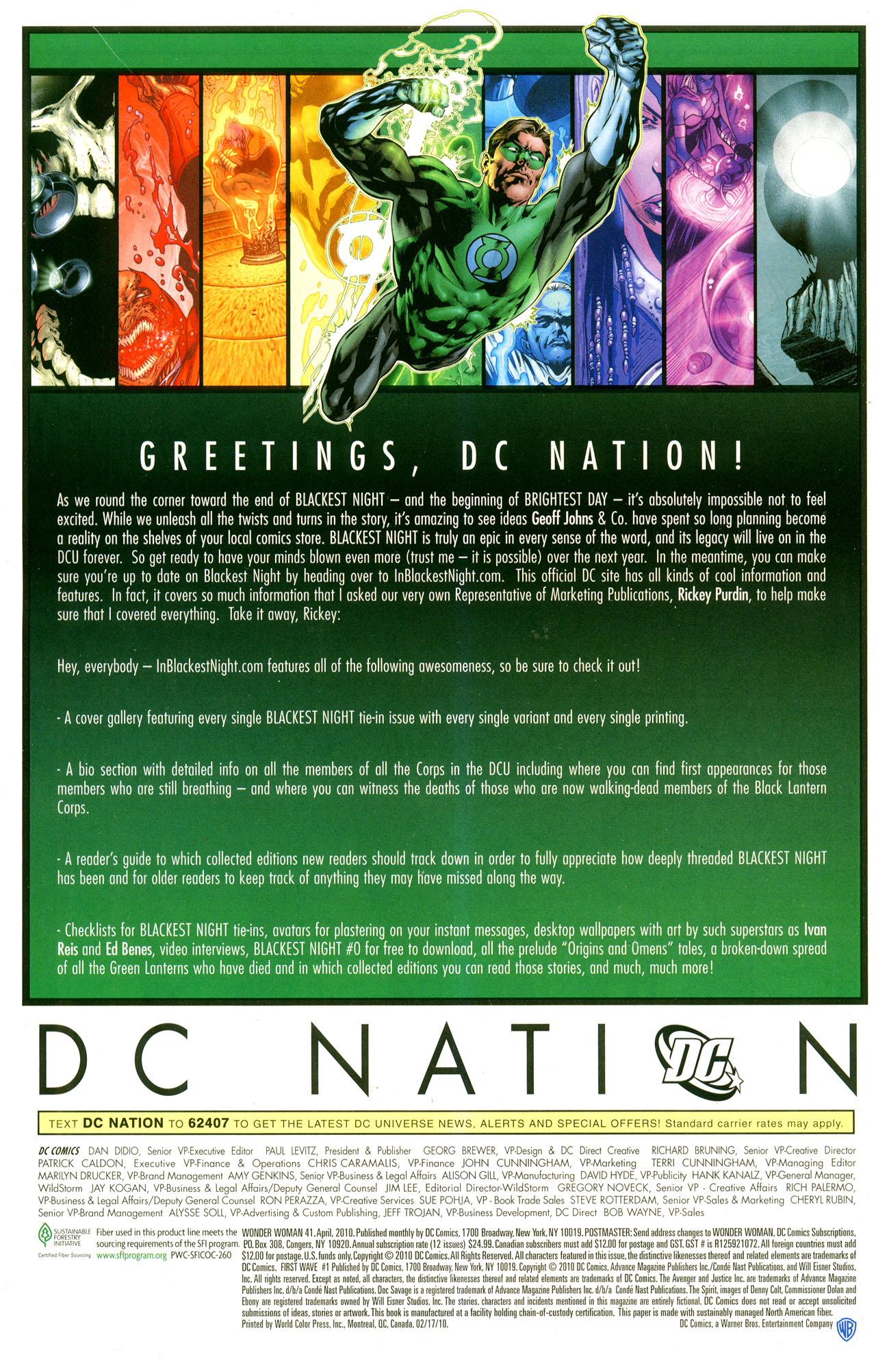 Read online Wonder Woman (2006) comic -  Issue #41 - 29
