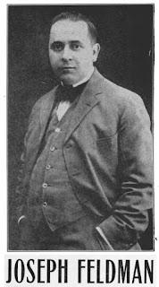 Joseph Feldman, Yiddish tenor