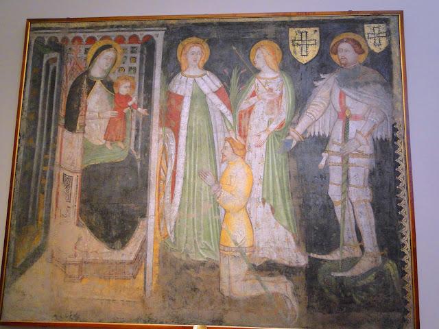 Afrescos da Pinacoteca de Brera