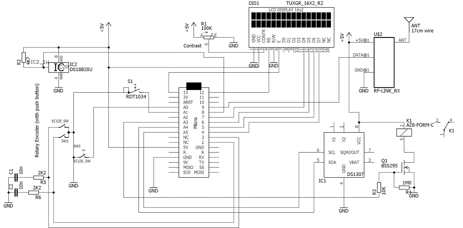 Doz Blog Arduino Astronomical Clock And Pond Pump Controller