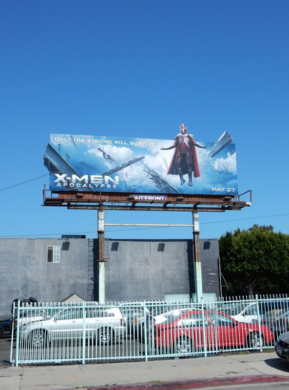 X-Men Apocalypse film billboard