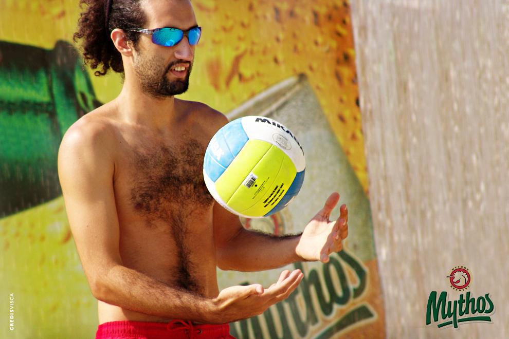 Concept, Branding, Αθλητές, Δελτίο Τύπου, Ραδιοφωνικό Spot, Χορηγοί Επικοινωνίας και Διοργάνωση Τουρνουά Beach Volleyball by Mythos Beer στον Άλιμο