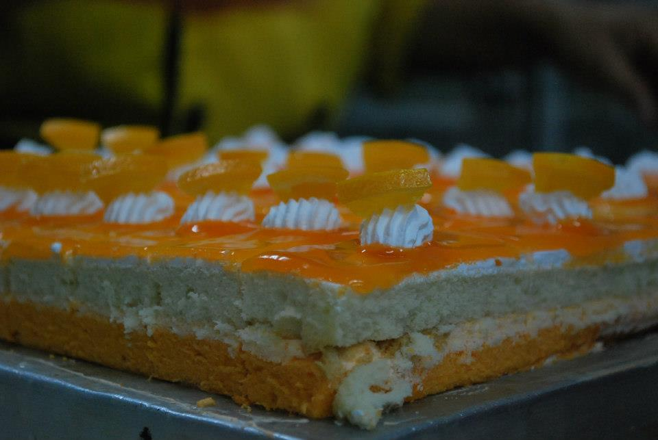 Florentine Orange Cake