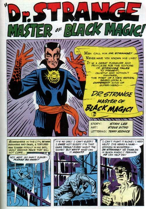 Artist Appreciation: Steve Ditko's Definitive Doctor Strange...
