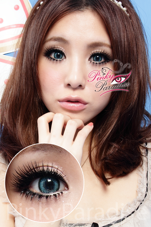 G&G Aloha Green Circle Lenses (Colored Contacts)