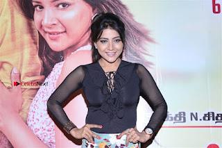 Actress Sakshi Agarwal Stills in Floral Short Skirt at Jaikira Kuthira Audio Launch  0009.jpg