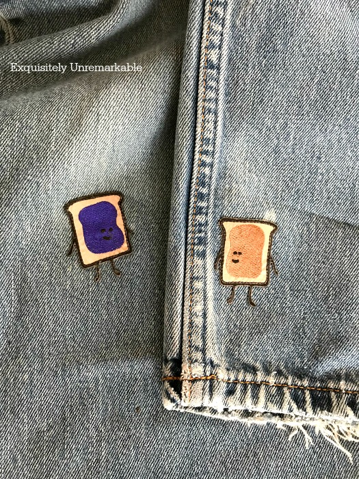 Peanut Butter and Jelly Pants