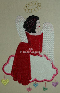 Valentine Appl Angel 5x7 & 4x4