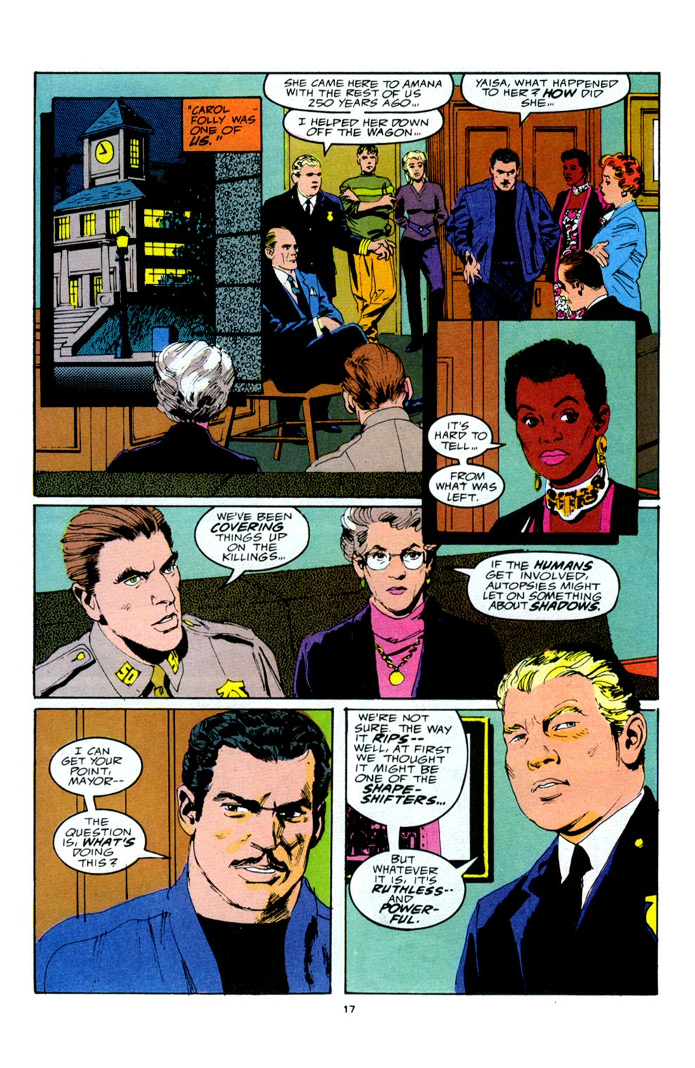 Read online Powerline comic -  Issue #5 - 19