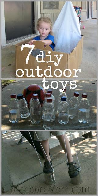 Kitchen Stores Modern Undermount Sink Outdoorsmom: Diy Outdoor (or Indoor) Toys