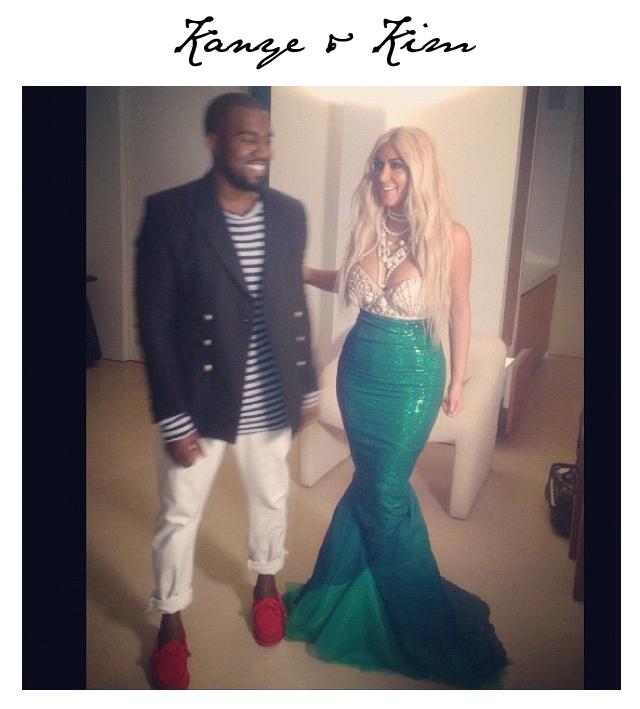 Kanye West Kim Kardashian Halloween Costumes