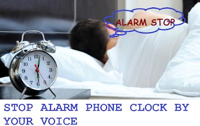 Cara Mematikan Alarm Ponsel Dengan Suara Kamu