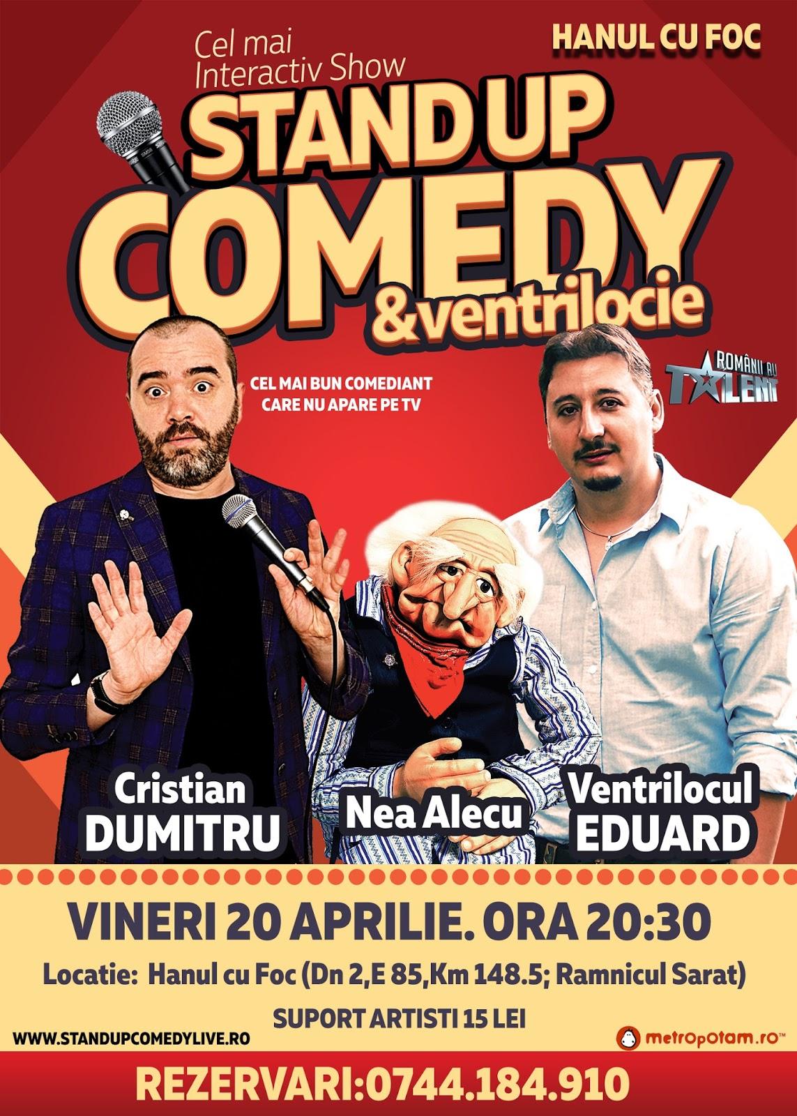 Stand-Up Comedy Ramnicul Sarat Vineri 20 Aprilie 2018