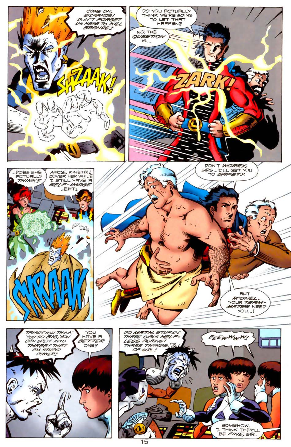 Legion of Super-Heroes (1989) 115 Page 14