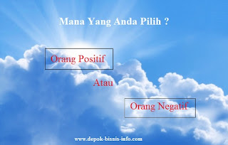 Bisnis, Info, Orang Positif, Orang Negatif