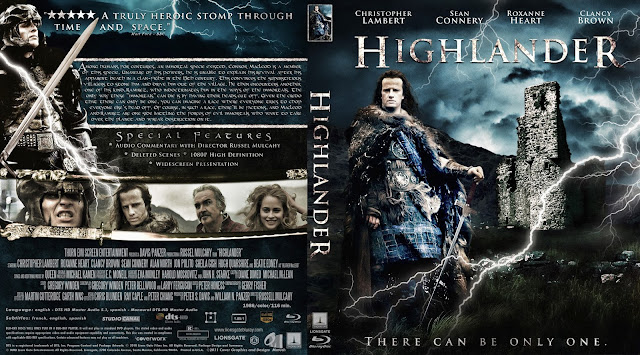 Highlander Bluray Cover