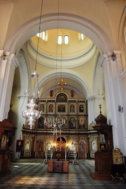 Intérieur église Saint-Nicolas Kotor