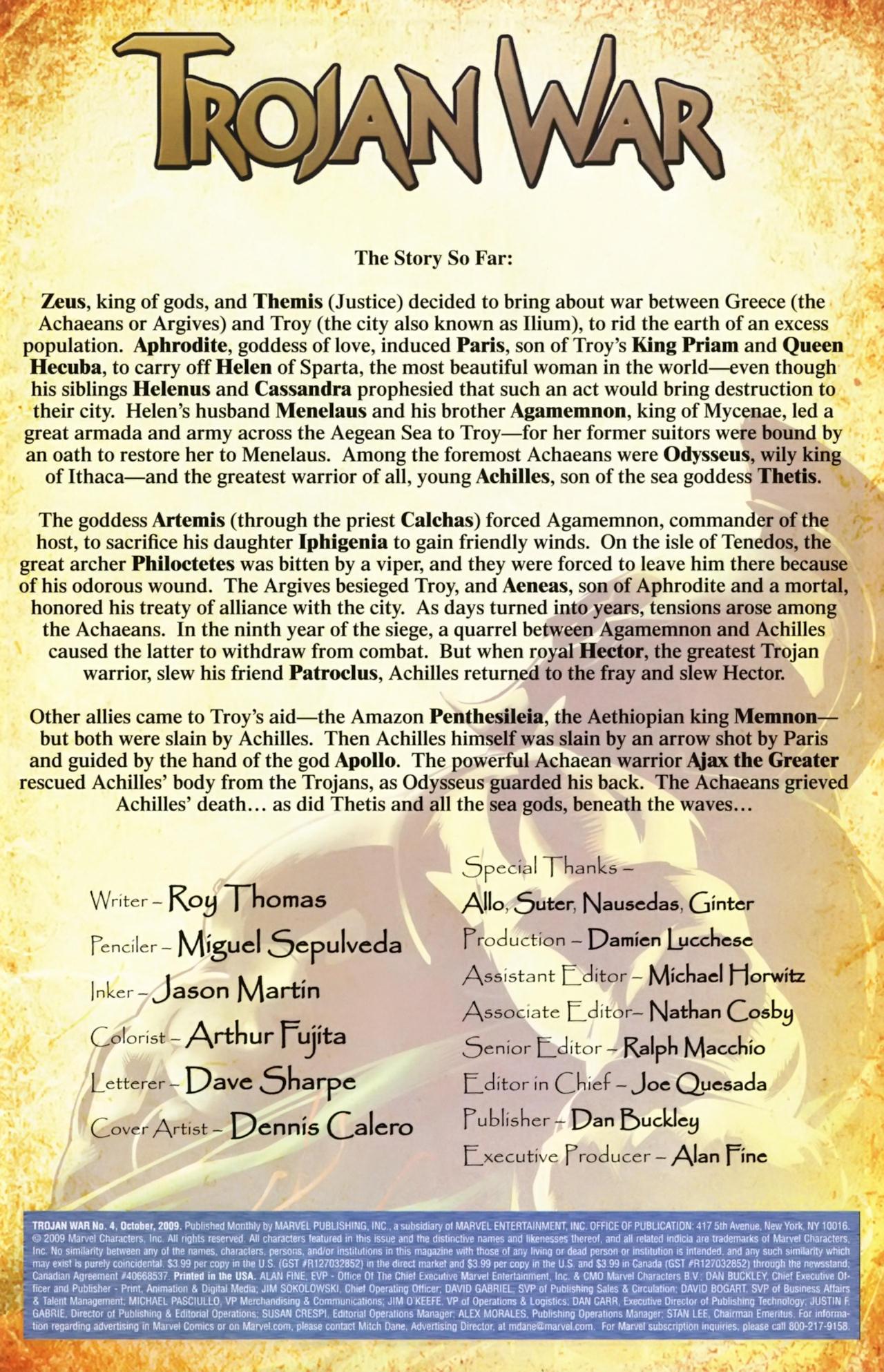 Read online Trojan War comic -  Issue #4 - 3