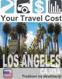 Los Anđeles, SAD – Trošak