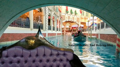 Destination - MACAU, Day 2, Gondola ride, Grand Canal Line, The Venetian Macao Resort Hotel, Cotai Strip on Natural Beauty And Makeup Blog