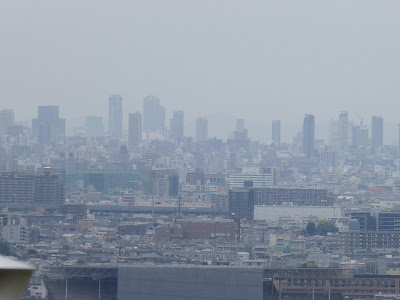 生駒山の麓 枚岡梅林からの眺望