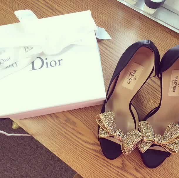 Beloved Dior Bridal Shoes Steal