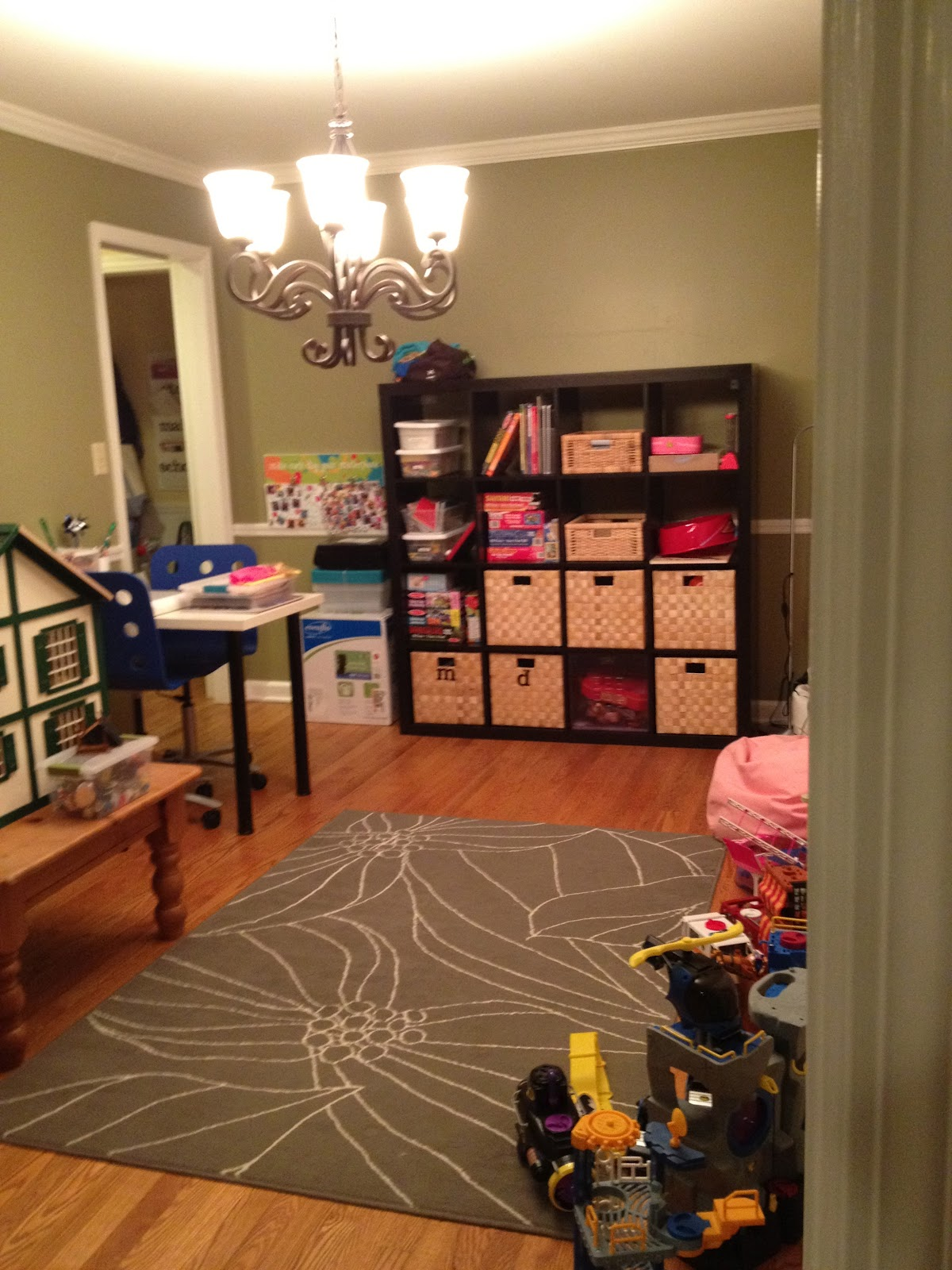 Turn a Dining Room into a Playroom  The DIY Bungalow