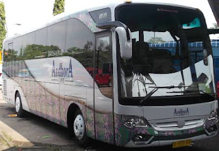 harga tiket bus andhora line jurusan Semarang, Solo, Ngawi, Madiun, Ponorogo