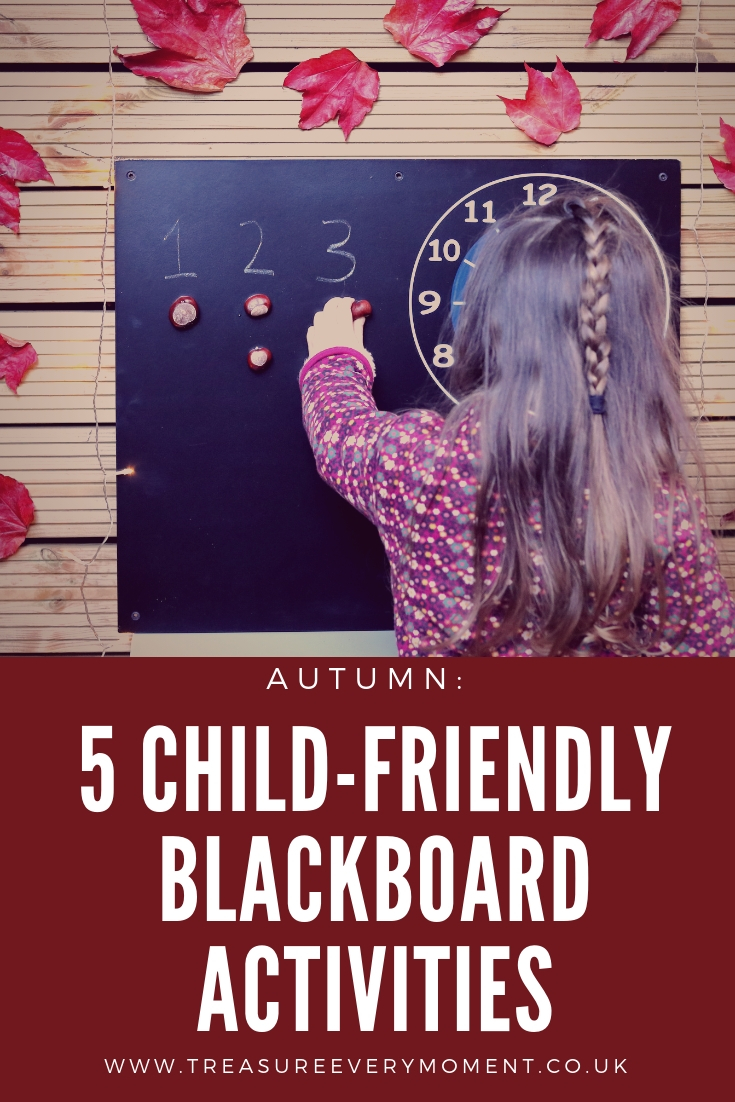AUTUMN: 5 Child-Friendly Outdoor Blackboard Activities