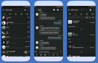 BBM Mod Dark OS V3.3.0.16 Apk