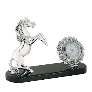 Clock with horse by Shazé - Rs 6,690