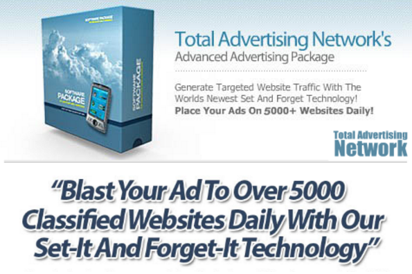 [GIVEAWAY] Total Advertising Network [Auto Submit To 4500+ Websites]