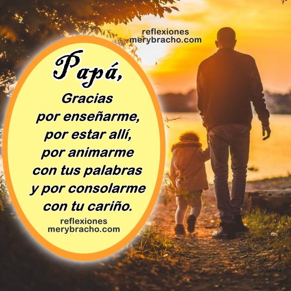 Frases De Agradecimiento Para Mi Padre Reflexiones Cristianas De Mery Bracho