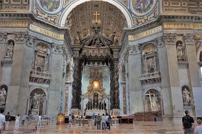 サン・ピエトロ大聖堂の大天蓋