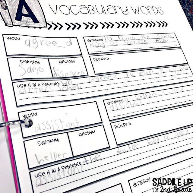 My writer's notebook is one of my favorite tools my students use during our writing block. This blog post walks you through how to set up your notebooks and is full of free resources to help you get started.
