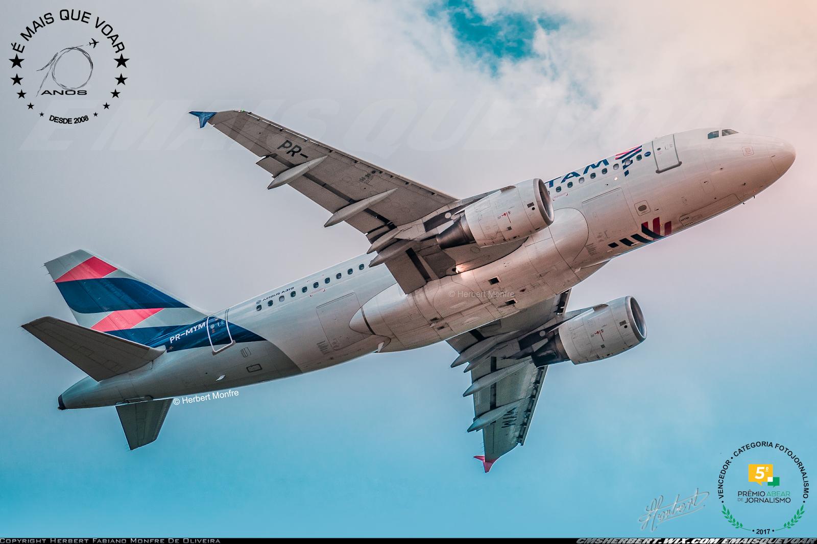LATAM Airlines divulga estatísticas operacionais preliminares de abril de 2019   Foto © Herbert Monfre - É MAIS QUE VOAR